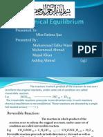 Chemical Equilibrium .Presentation