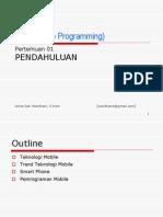 Mobile programming bab1