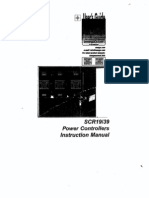 Scr Power Controller Manual