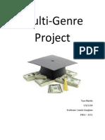 multi genre project