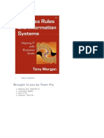 [Tony Morgan] Business Rules and Information System