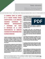 Boletín Informativo SRE