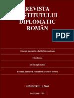 Revista IDR Semestrul I 2009