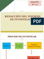 Redacción de Informes de Investigación