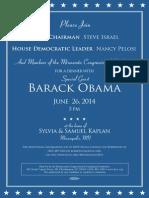 Obama DCCC invite