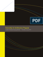 Internship in Architecture Program
