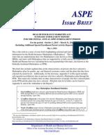 ObamaCare Enrollment Report