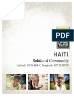 living water international haiti trip report 2014
