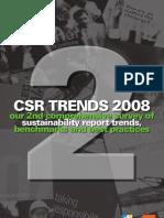 CSR Trends 2008