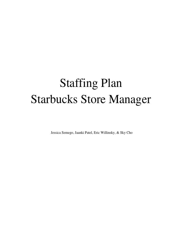 Staffing plan for starbucks store manager background check starbucks falaconquin