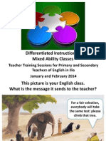 Differentiated Instruction for Inclusive Teaching