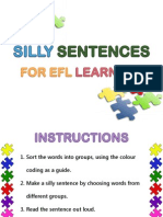 Silly Sentences p1