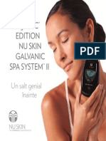 2 Brosura AgeLOC Nu Skin Galvanic Spa System II
