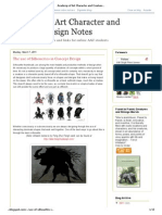 Academy of Art Character and Creature Design Notes_ the Use of Silhouettes in Concept Design