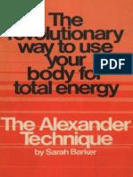 DANCER'S Alexander_Technique