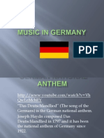 music in germany