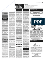 Claremont COURIER Classifieds 4-25-14