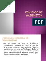 Consenso de Washington 1