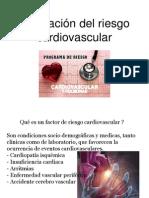 Evaluacion Del Riesgo Cardiovascular