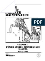 Power Circuit Breaker Maintenance