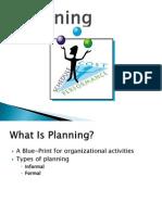 Session Organizational Planning