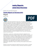 Chapter 2. Country Reports South and Central Asia Overview