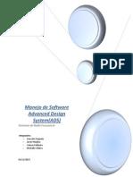 Manejo de Software Advanced Design System