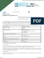 Legislación en Salud Argentina-RESOLUCION 1121-1986