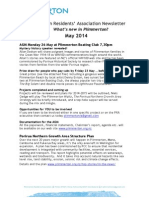 What's up in Plimmerton? monthly newsletter for May 2014