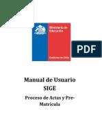 Manual Usuario Sige Actas y Prematricula2013