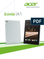 Acer Iconia a1 Espanol
