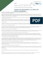 Rojas Marcos «Superamos La Adversidadd