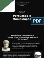 Apresentação - Persuasão e Manipulação