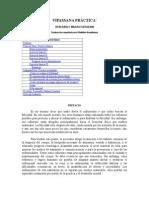 VIPASSANAPRCTICAMeditacionbudista