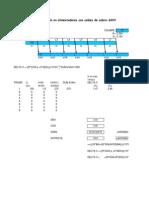 Cálculo de Caída de Tension Cables 600V