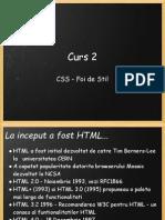 Curs 2 CSS