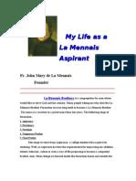 My Life as a La Mennais Aspirants