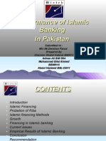 Performance of Islamic Banking