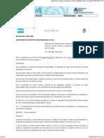 Legislación en Salud Argentina-RESOLUCION 2385-1980