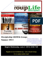 Group Life Catalog Summer 2014