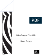 Zebra Label Designer User Guide