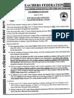 BTF Charter School Study