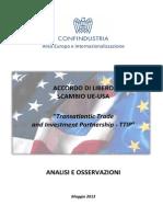 Transatlantic Trade and Investment Partnership - TTIP
