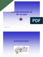 PERFIL DEL ENTRENADOR DE BASE DE WATERPOLO