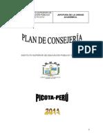 Plan de Consejeria 2011