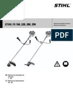 Roçadeira Stihl FS 220 Manual
