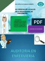 Auditoria en Enfermeria