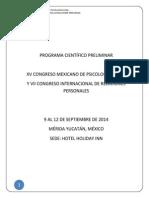 Programa Preliminar AMEPSO 2014
