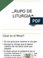 Grupo de Liturgia Misal 241007