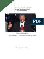Discursul Prezidential Al Lui Barack Obama